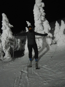 The first night skiing in 15 years